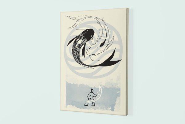 Avatar WATER canvas