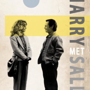 When Harry met Sally canvas