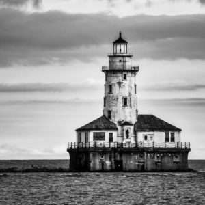 Black & White Lightouse by Stasa