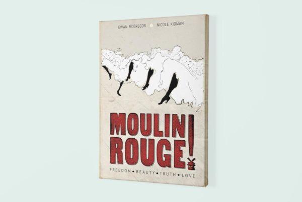 Moulin Rouge canvas