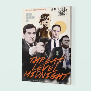 Threat level midnight Canvas